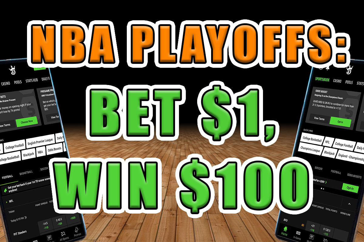 DraftKings Sportsbook's NBA Promo Offers 100-1 Odds