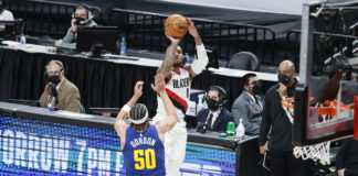 nuggets blazers player prop pick