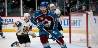 avalanche golden knights odds pick