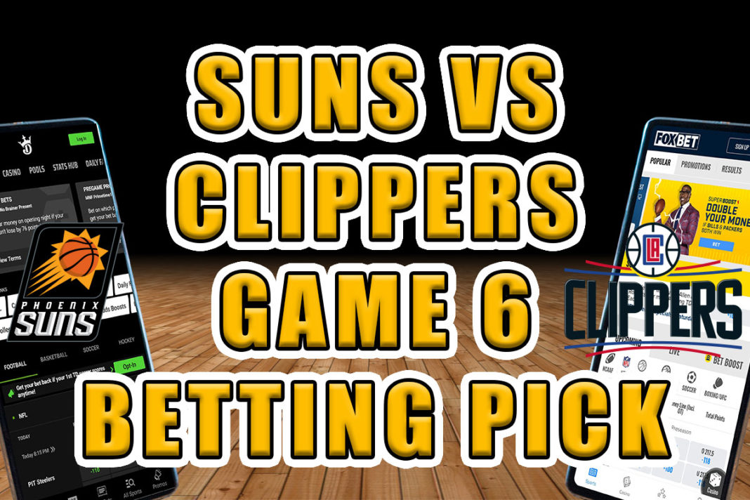 suns clippers picks game 6