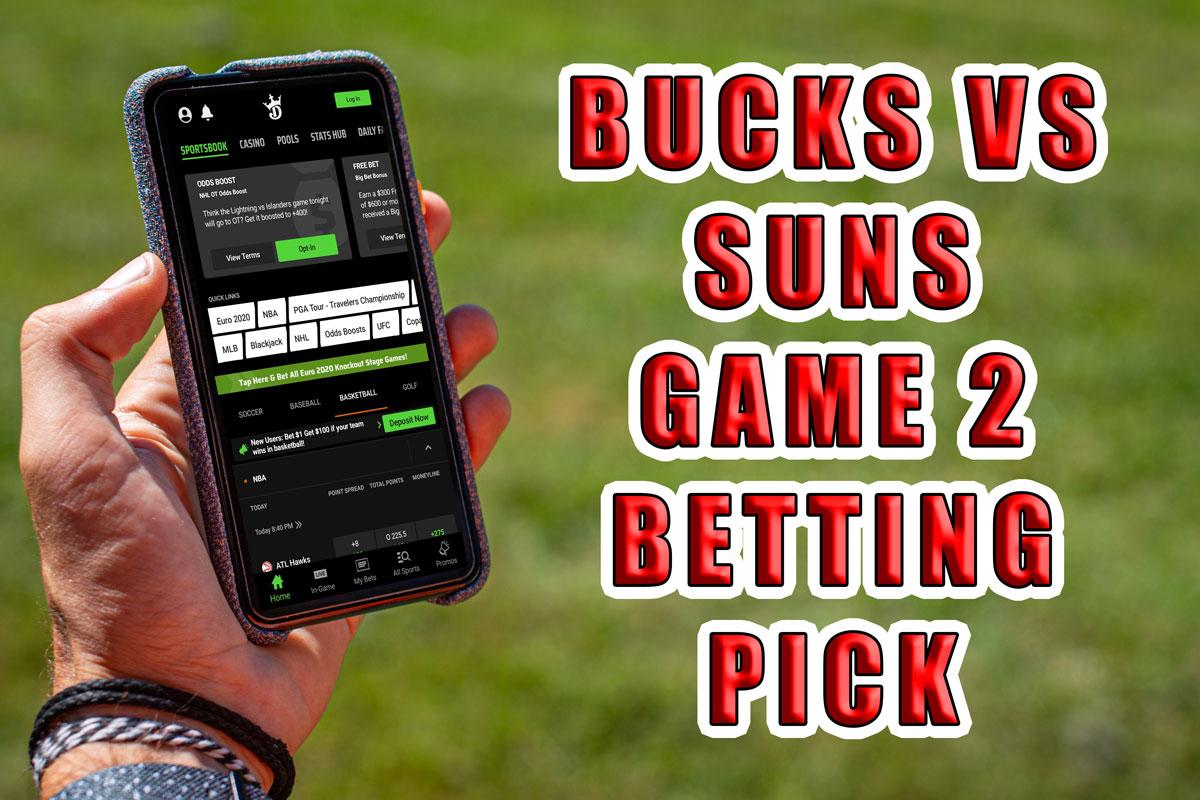 bucks suns game 2 pick