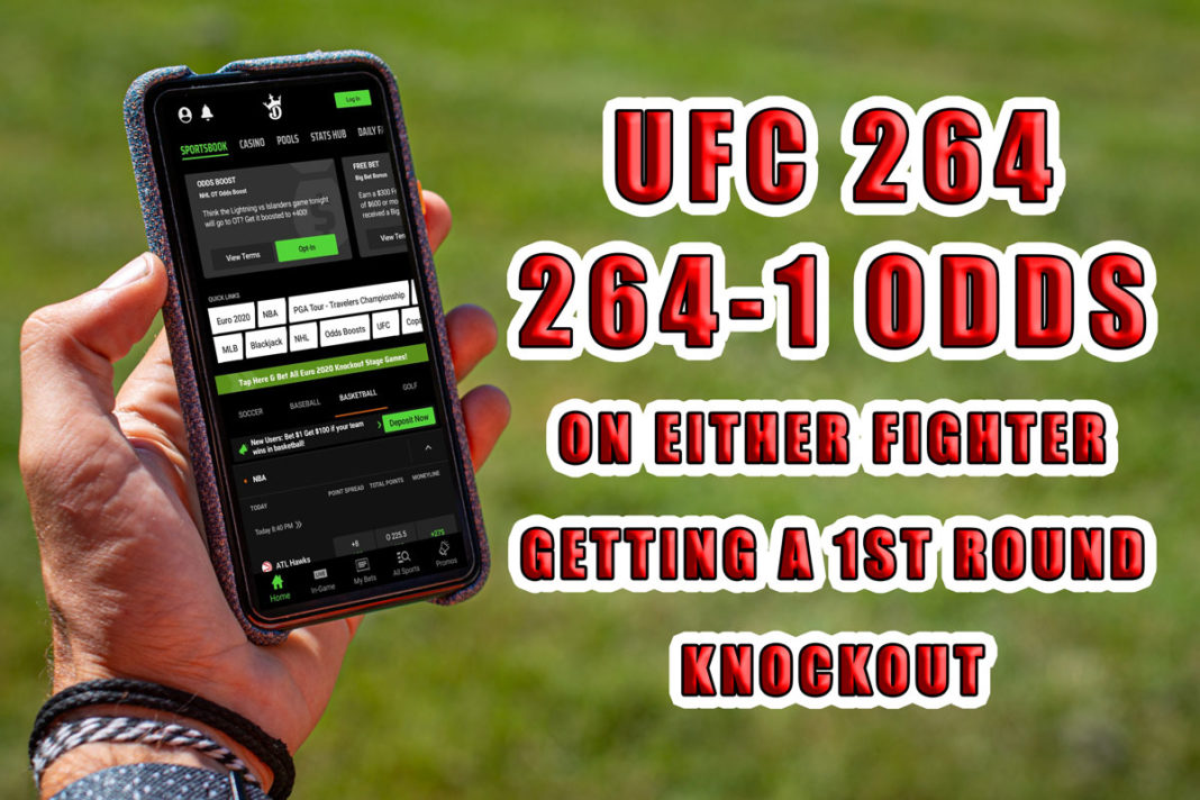 draftkings sportsbook ufc 264 promo