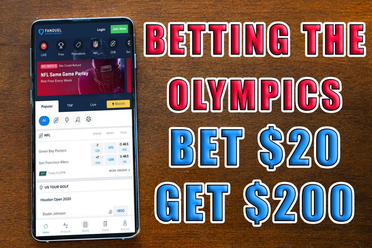 FanDuel Sportsbook Olympics bonus