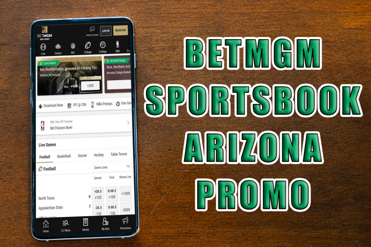 BetMGM Sportsbook Arizona $1,000 Risk-free bet