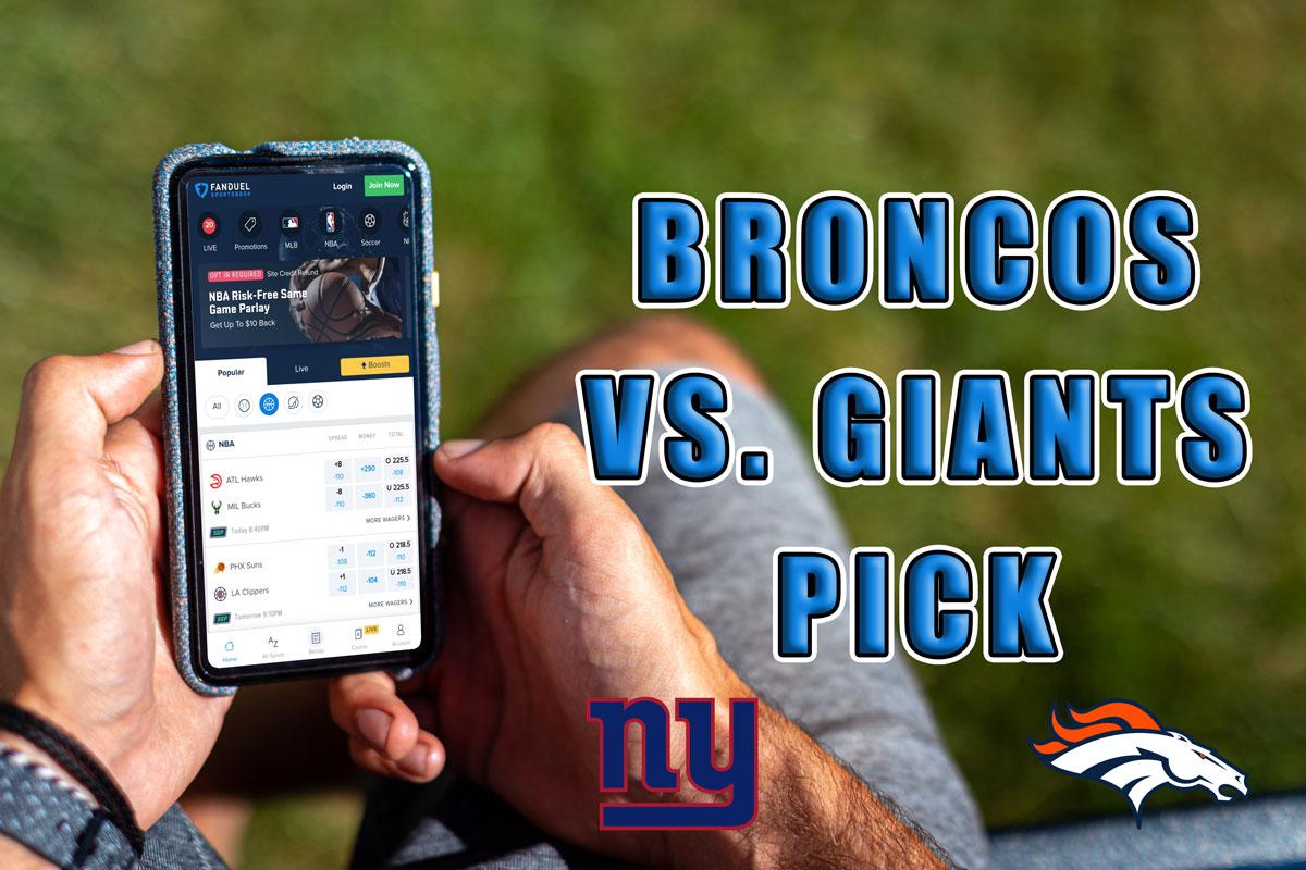 broncos giants pick