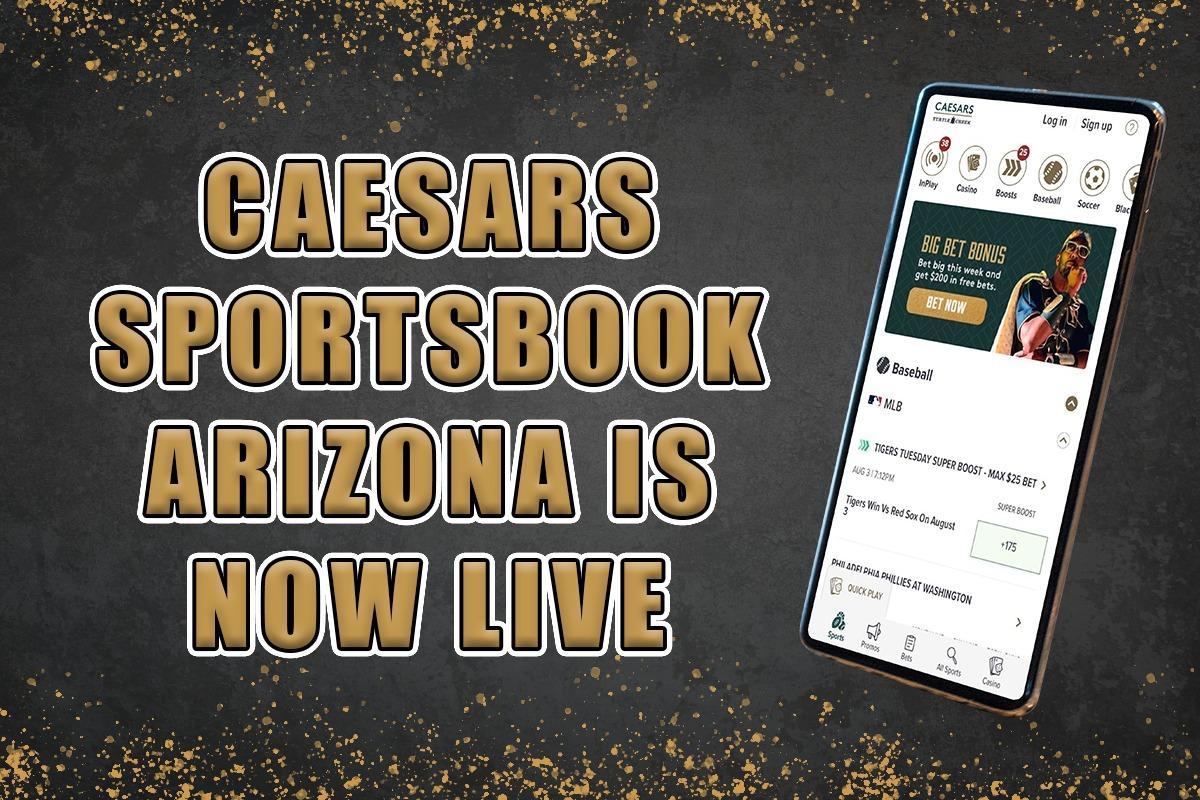 Caesars Sportsbook AZ $5,000 risk-free bet
