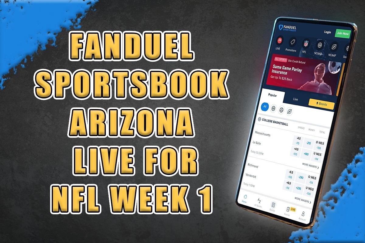 FanDuel Sportsbook AZ NFL promo