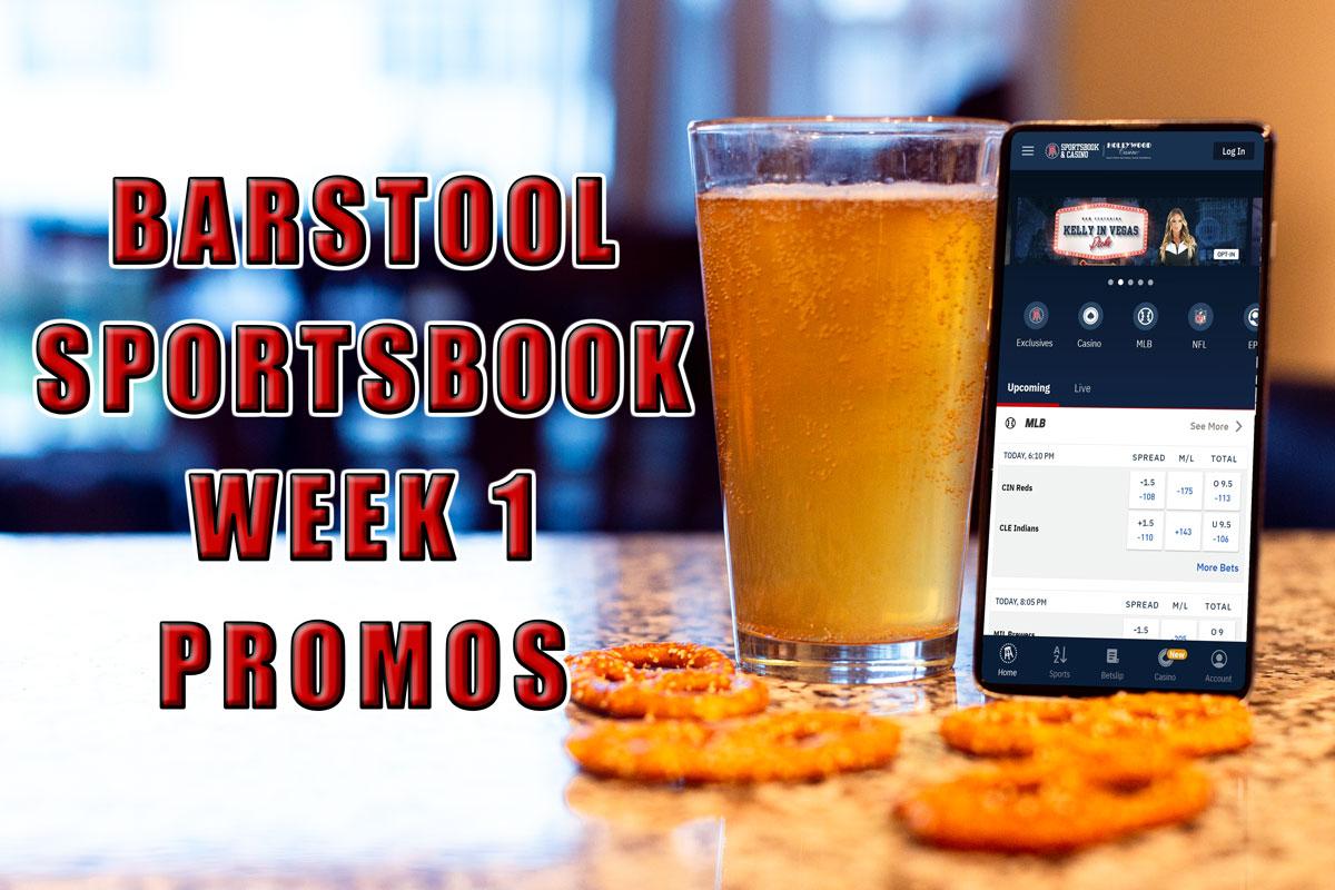 barstool sportsbook nfl week 1 promos