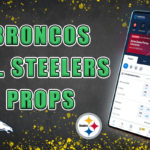 broncos steelers player props