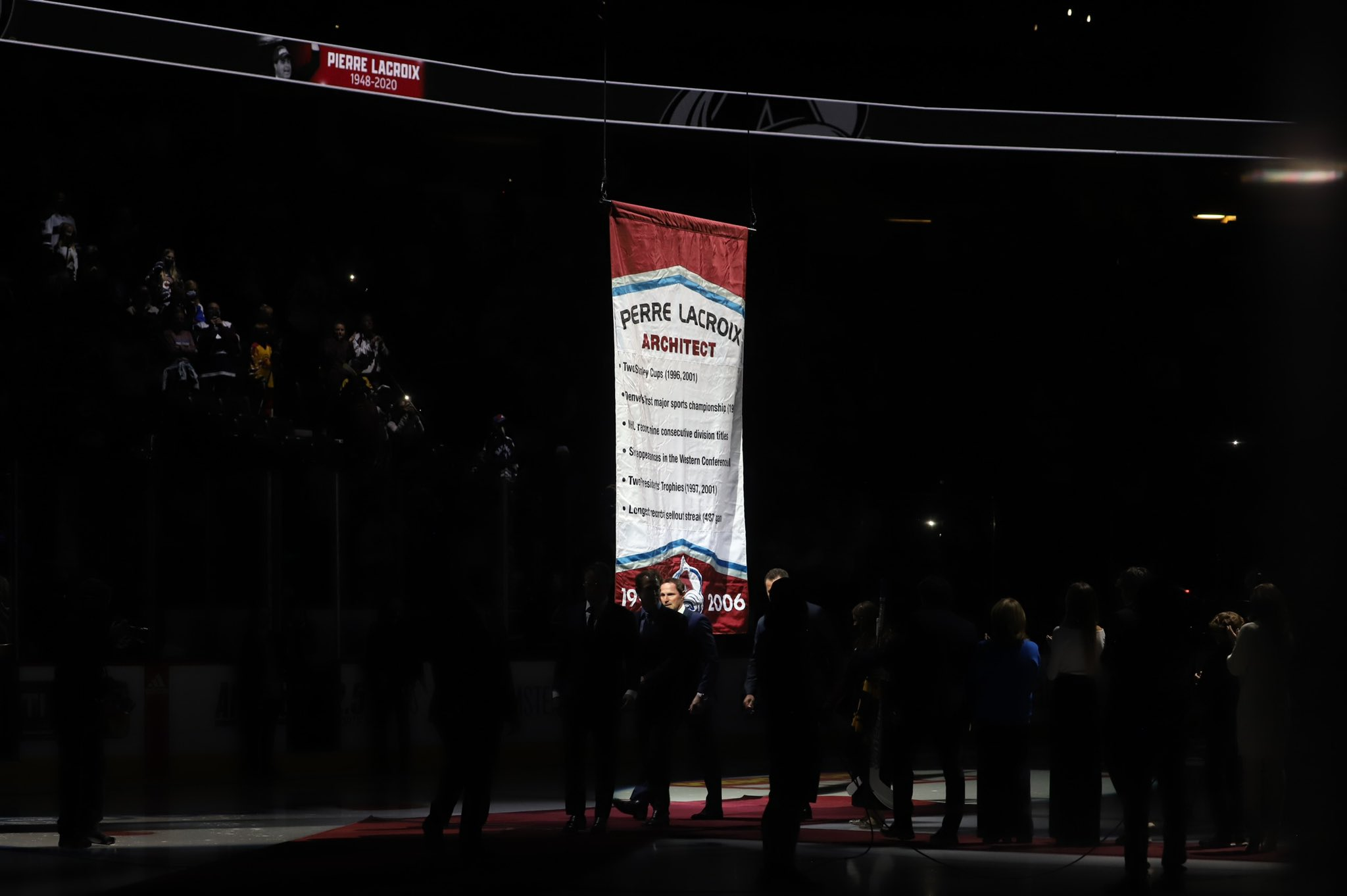 Hockey Mountain High Podcast: Pierre Lacroix Night at Ball Arena -