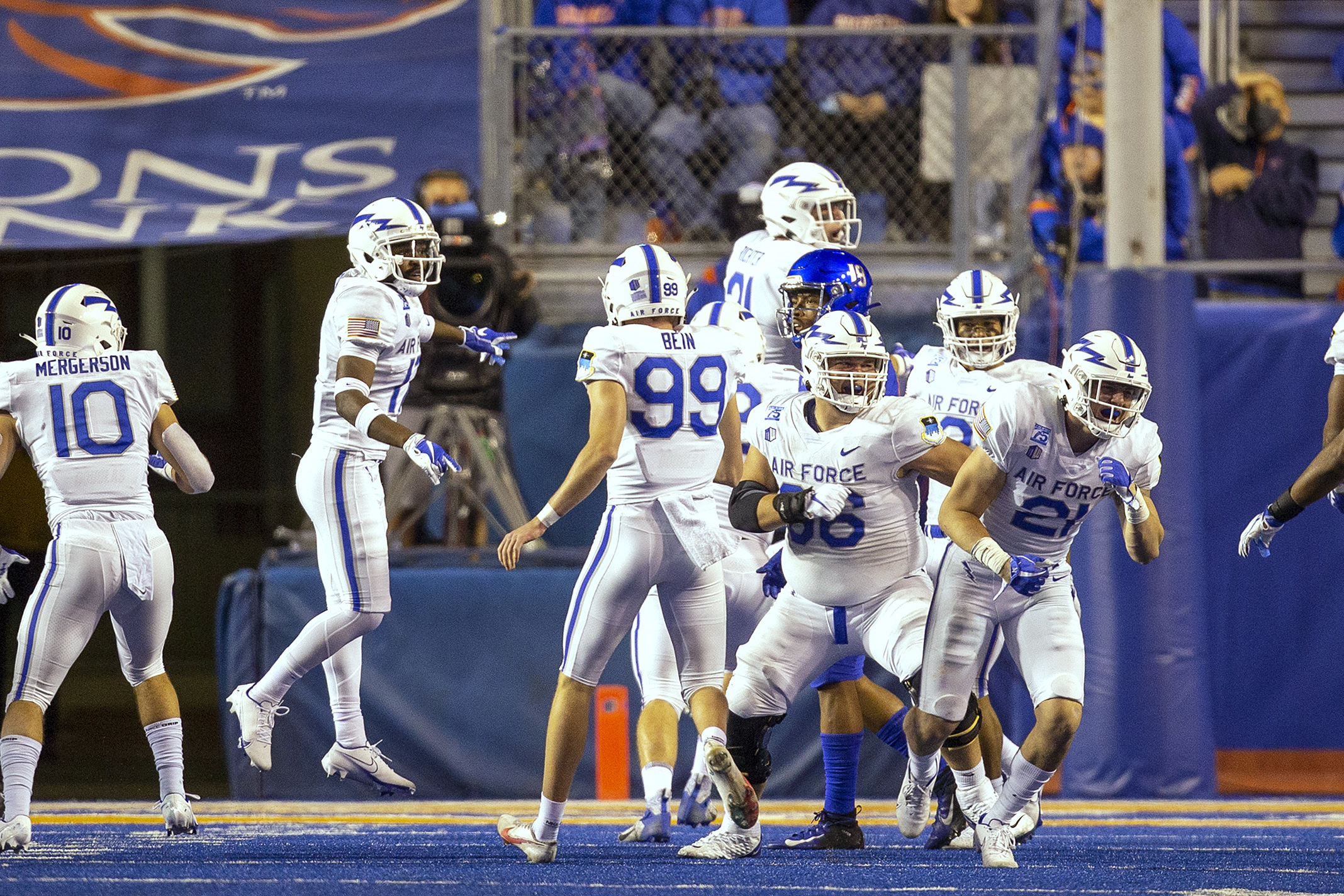 3 Strikes: Air Force football, Paton's Fangio problem and Avs expectations